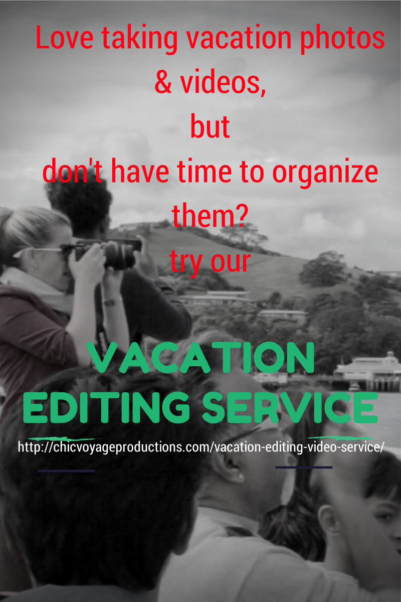 Vacation editing service