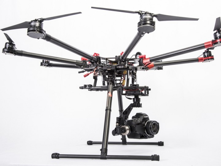 Professional aerial video is reality thanks to DJI