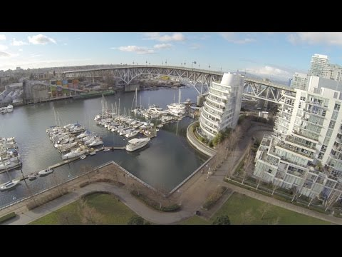 Behind the scenes – Vancouver Aerial Footage