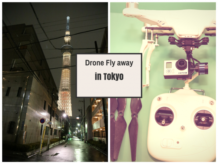 Filming in Tokyo – How I lost my drone in Tokyo and lessons learned