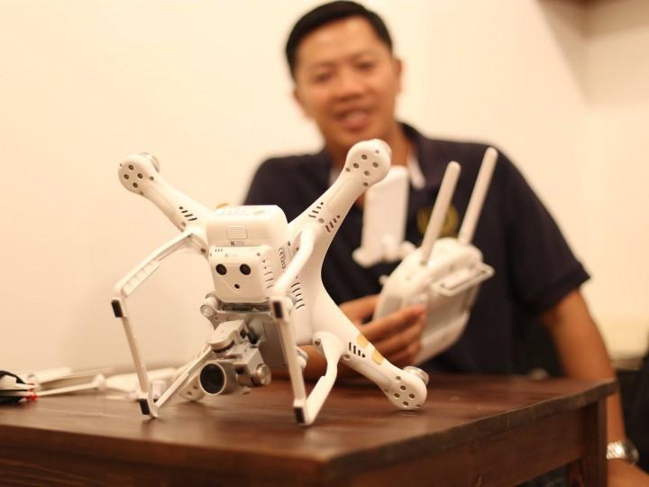 DJI Phantom 3 –  Big-time improvements in drone safety