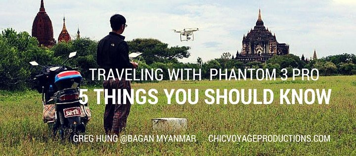 Aerial footage in Angkor Wat Cambodia – 5 things you should know traveling with the Dji Phantom 3 professional