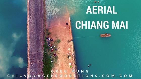 Aerial Video Chiang Mai Quarry & Doi Piu viewpoint