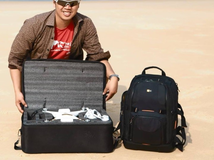 How to Travel and pack your Phantom drone