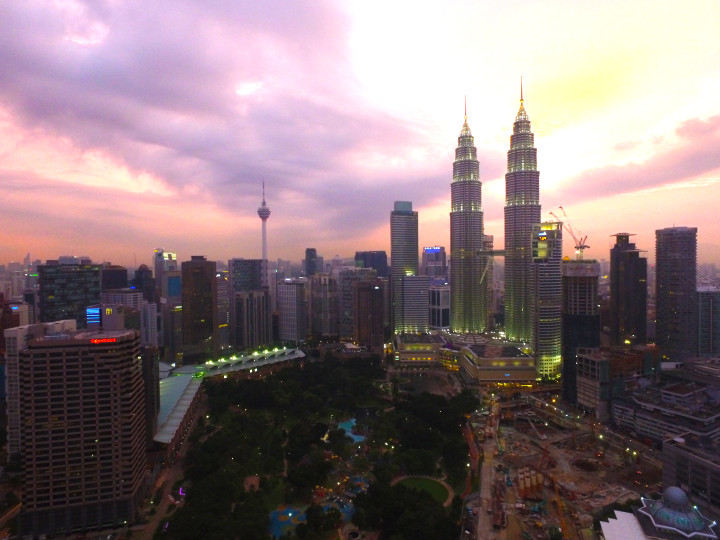 Filming footage and traveling with the drone in Malaysia and India