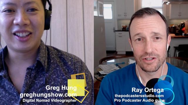 GHS 21 Ray Ortega Full-time Podcast producer & Audio Guru