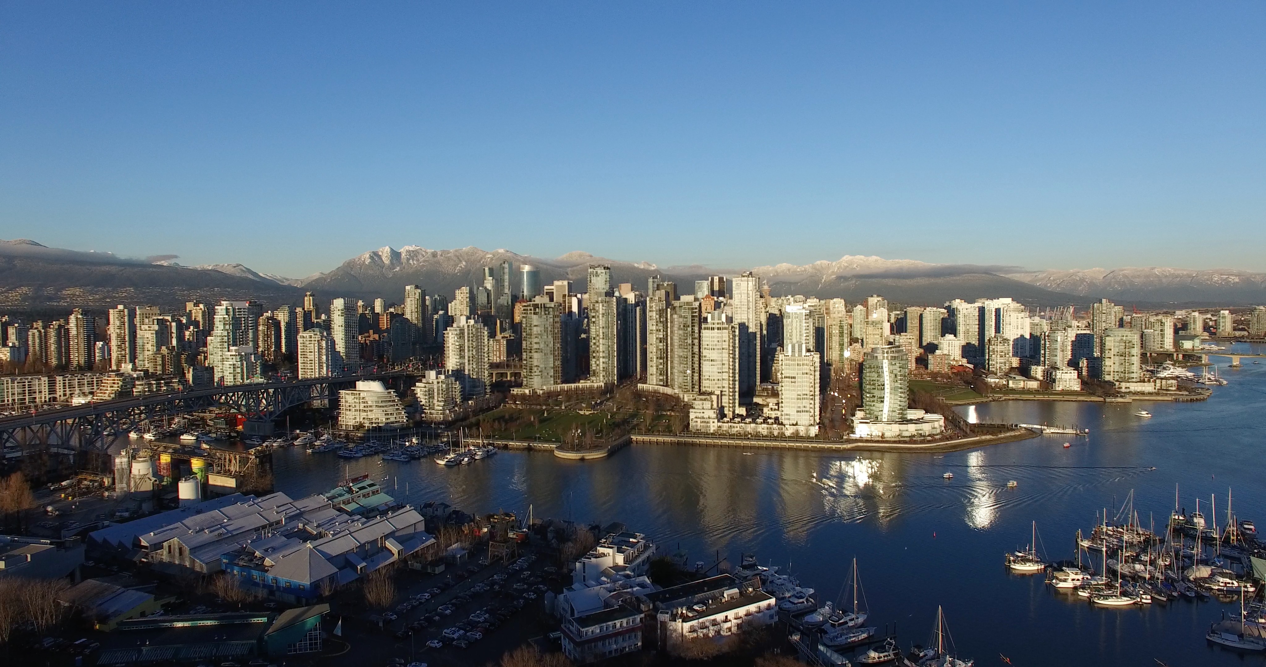 Vancouver Aerial Stock Footage
