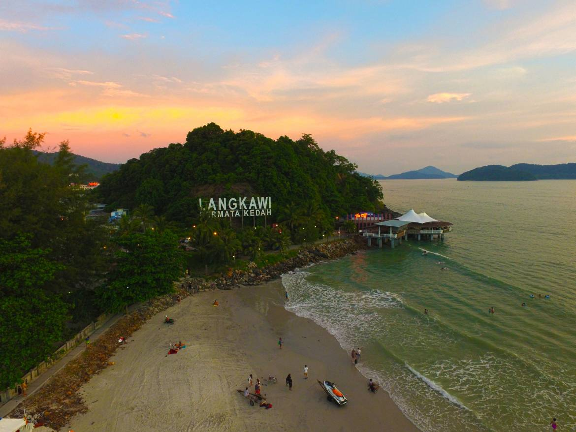 langkawi malaysia aerial photography