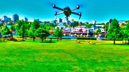 Free Aerial photo course DJI Mavic