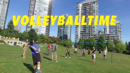 volleyball stock footage