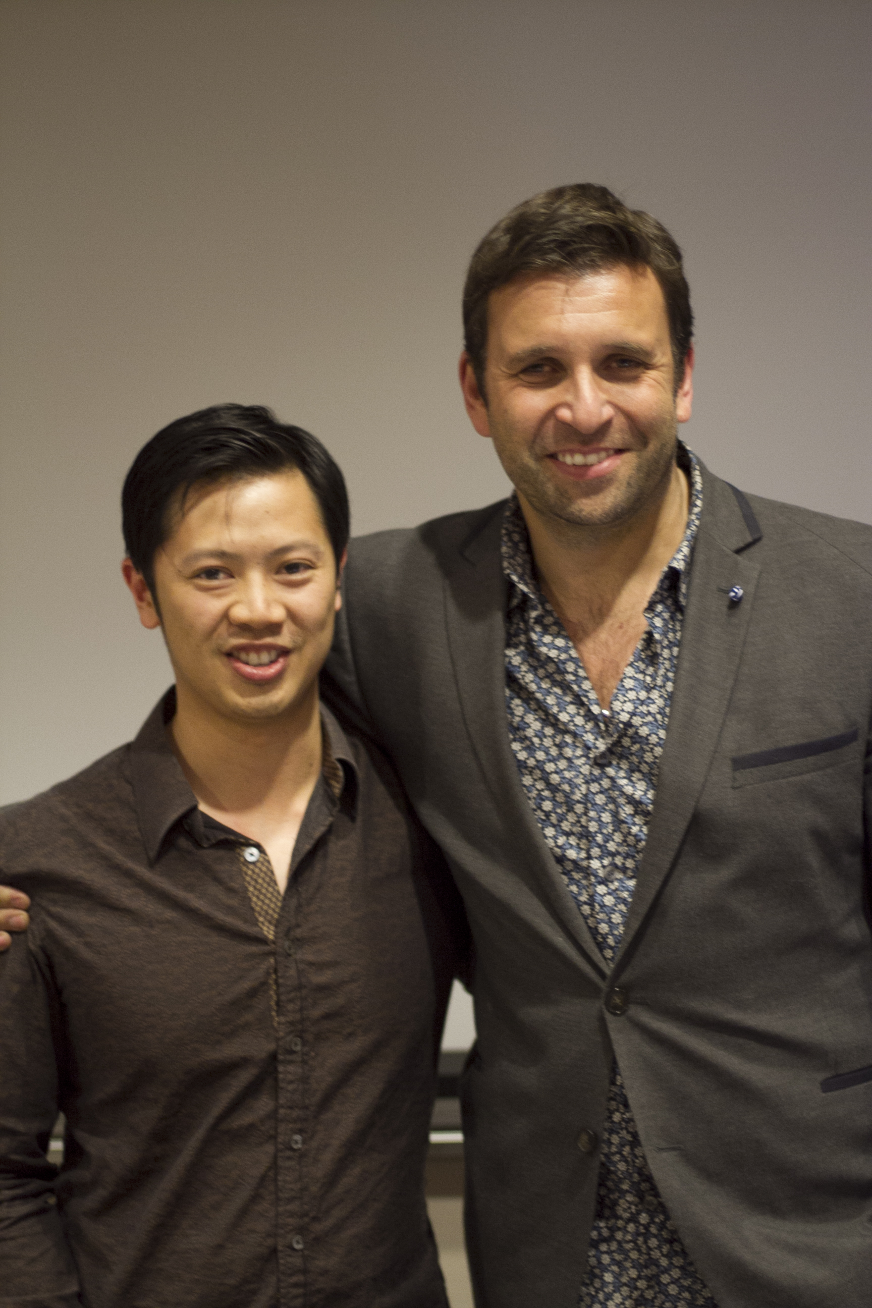 Greg Hung & Philip Bloom