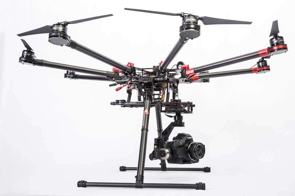 professional aerial video
