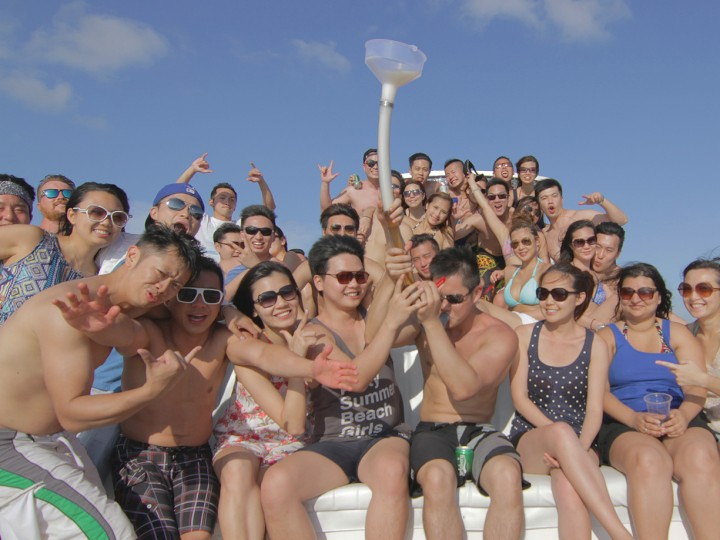 How to film a yacht party
