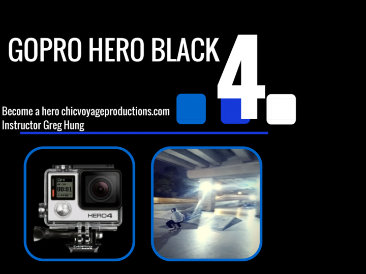 Filming for new Go pro 4 Video course has completed
