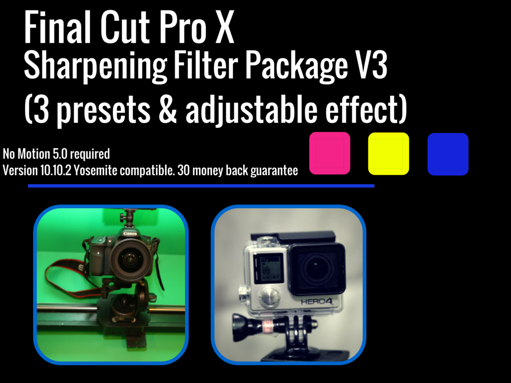 Final Cut Pro X Sharpening Plugin