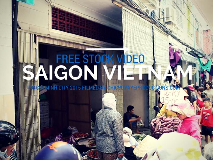 Free stock footage from Vietnam Saigon