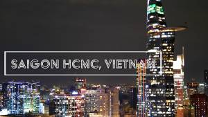 Saigon Vietnam Stock Footage
