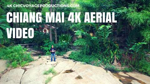 Chiang Mai 4k aerial