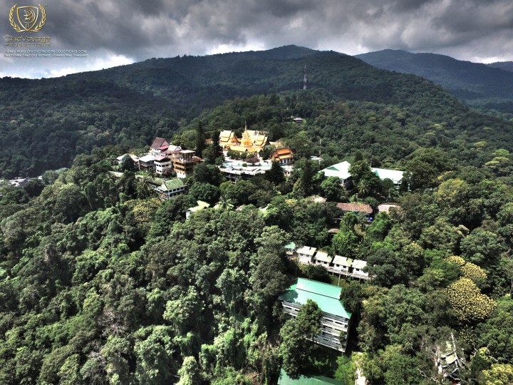 Best of Chiang Mai 4k Aerial video highlights
