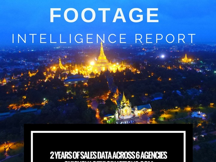 Stock footage earnings from 2 years 2014 – 2016 across agencies