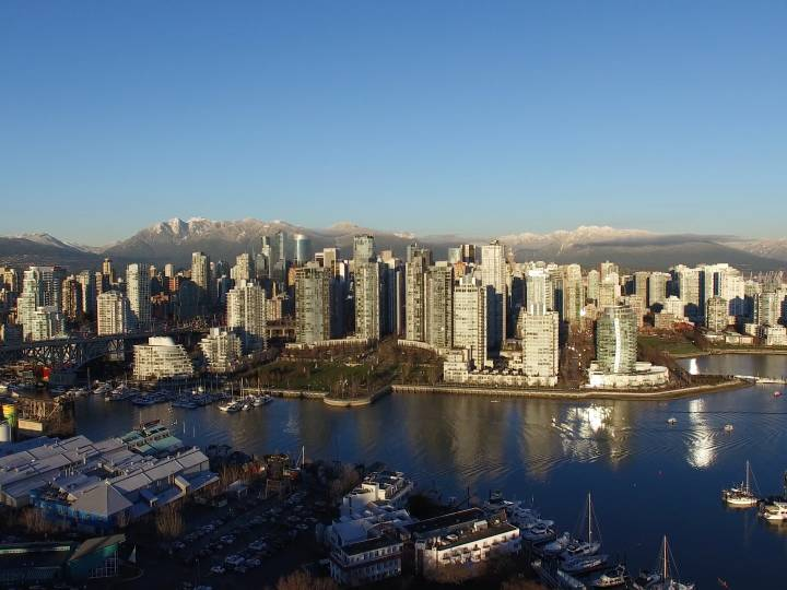 Vancouver Aerial Stock Footage (Broll) – For License
