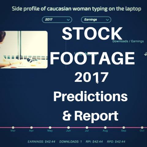 stock footage 2017 report
