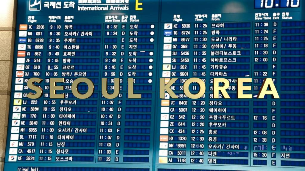 Seoul Korea English Speaking Videographer