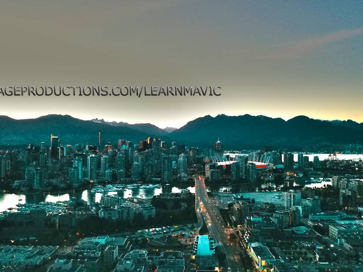 Vancouver Aerial View – DJI Mavic drone