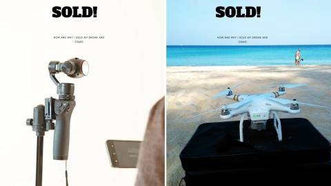 how i sold my drone and dji osmo