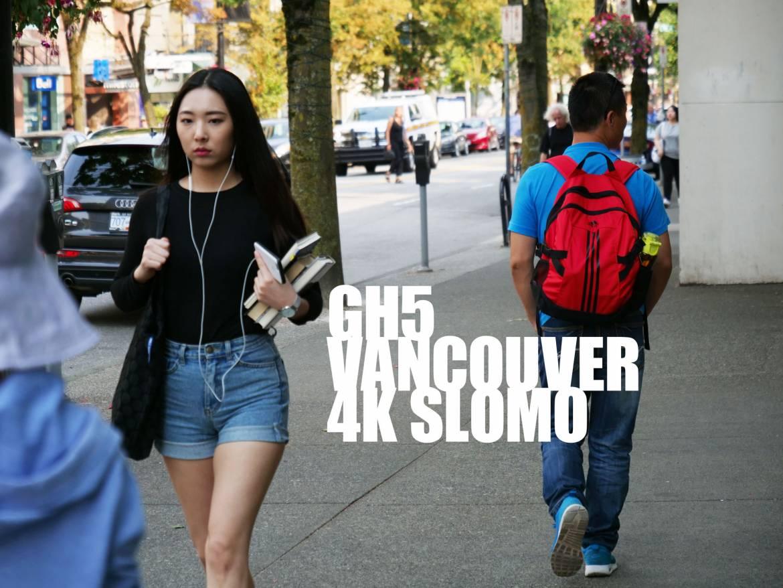 Panasonic GH5 4k slow motion