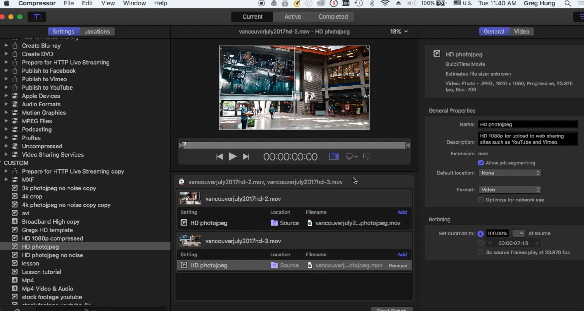 How to apply a Logo watermark to a multiple Video Files