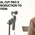FCPX introduction to motion