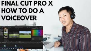 Final Cut Pro X - how to do a voice over