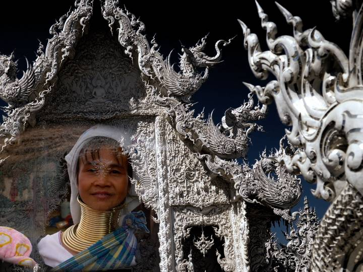 Chiang Rai Thailand Golden Triangle Stock Footage
