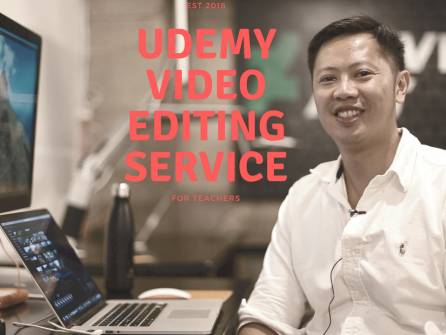Udemy Editing Service