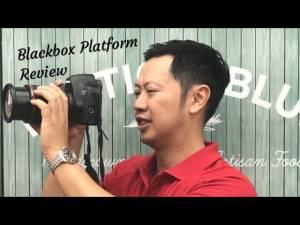 Blackbox platform independent Review Stock Footage