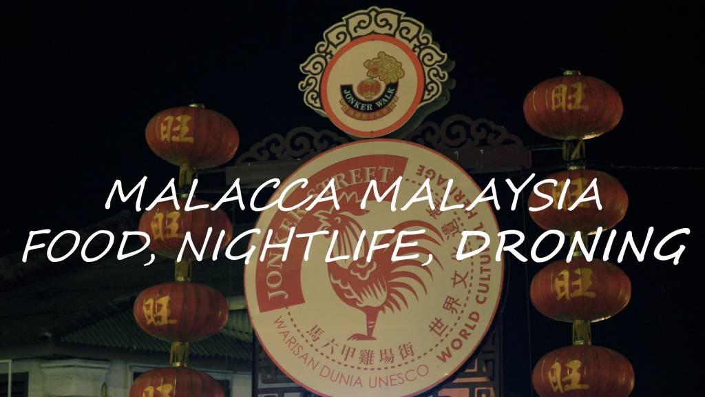 Malacca Melaka Stock Footage 4K Royalty Free
