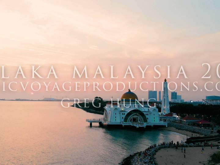Malacca (Melaka) Stock Footage Royalty Free 4k