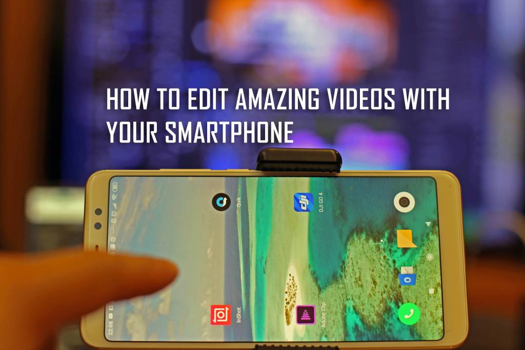 How to DroneVideos with your Smartphone