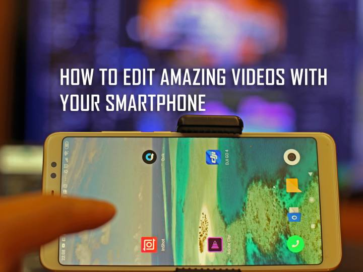 How to Edit Drone and 4K Footage with your Smartphone in under 20 minutes