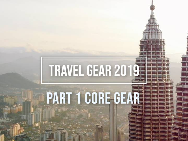 2019 Travel Videographer Gear & Kit for Mobility and Epic Footage