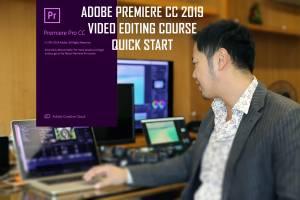 ADOBE PREMIERE 2019 VIDEO EDITING COURSE