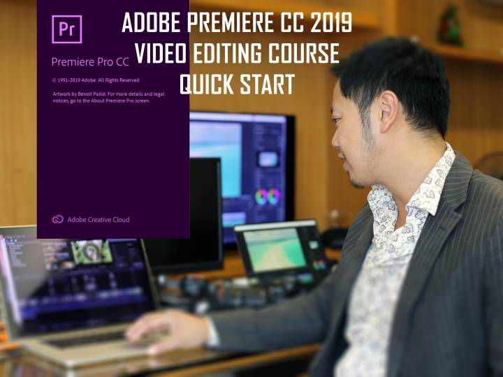 Adobe Premiere CC 2019 Video Editing Course – Quickstart Zero to Hero