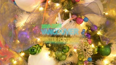 Vancouver Winter Footage