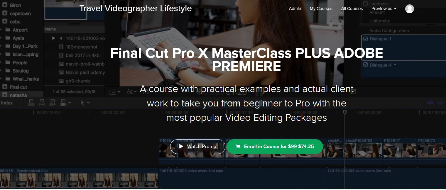Final Cut Pro X Masterclass Online Course