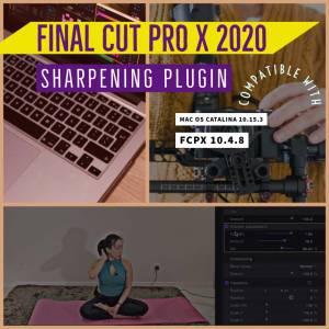 how to sharpen final cut pro x 2020