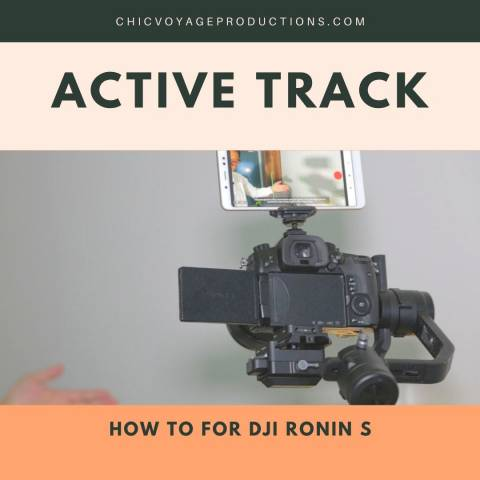 dji ronin s active track how to