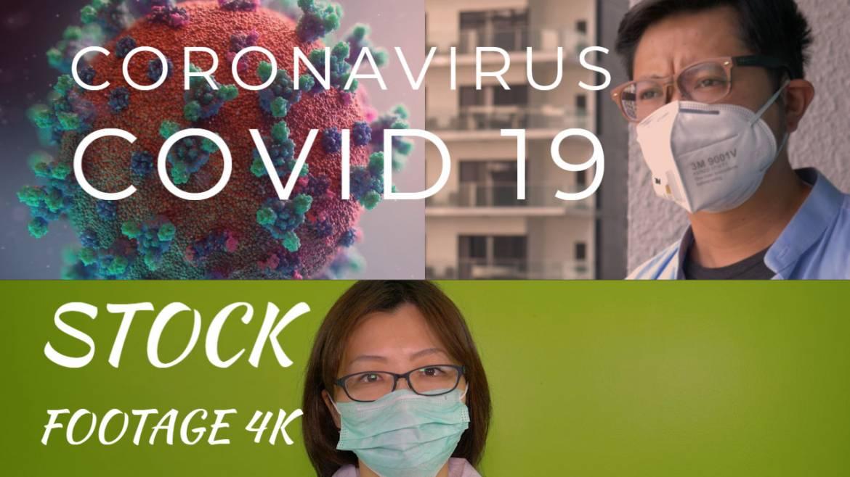 coronavirus stock footage