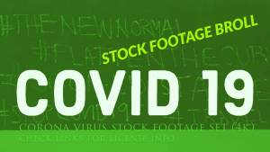 COVID 19 stock footage Broll