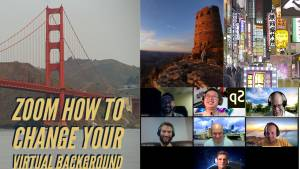 How to change your zoom virtual background